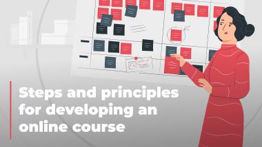 The methodology of online course development