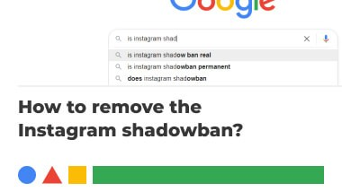 How to remove the Instagram shadowban?